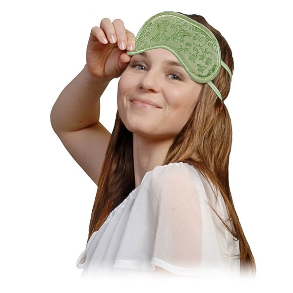 Schlafmaske mit Aloe vera