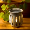 Aroma Duftlampe aus finnischem Speckstein