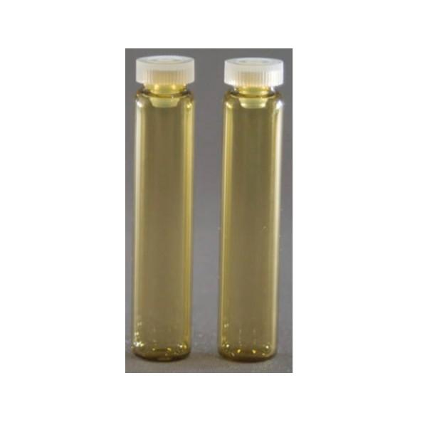 Glasröhrchen 2 g, Braunglas