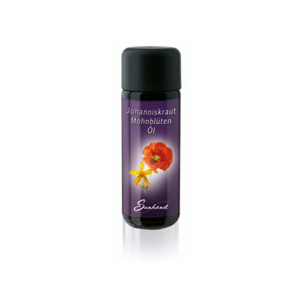 Johanniskrautöl-Mohnblütenöl