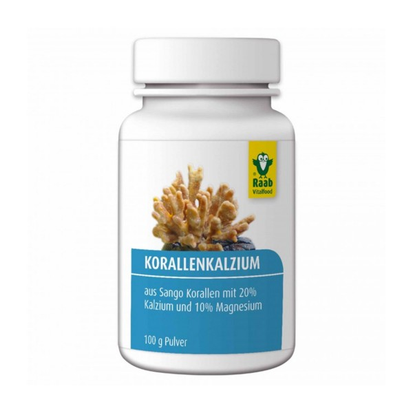 Korallen-Kalzium Pulver