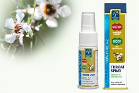 Tipp der Woche: Manuka-Rachenspray bei Halsschmerzen