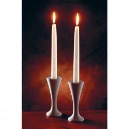 Speckstein-Kerzenleuchter