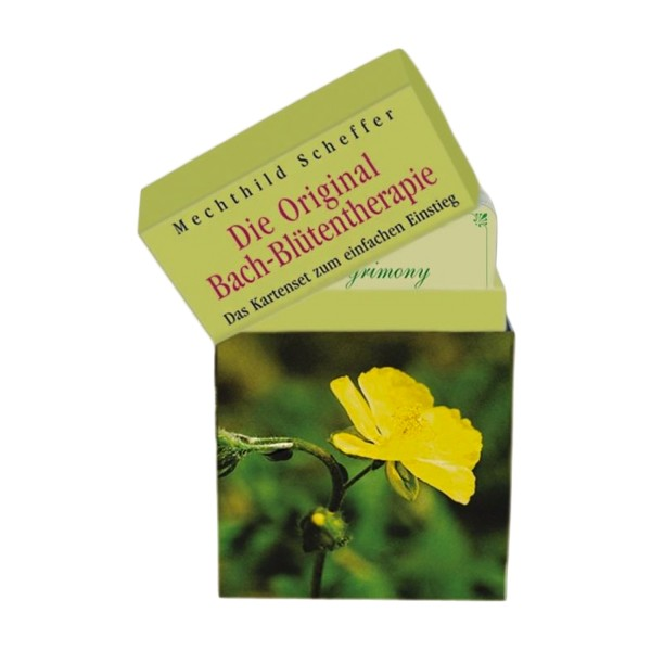 Original Bachblüten-Therapie als Kartenset