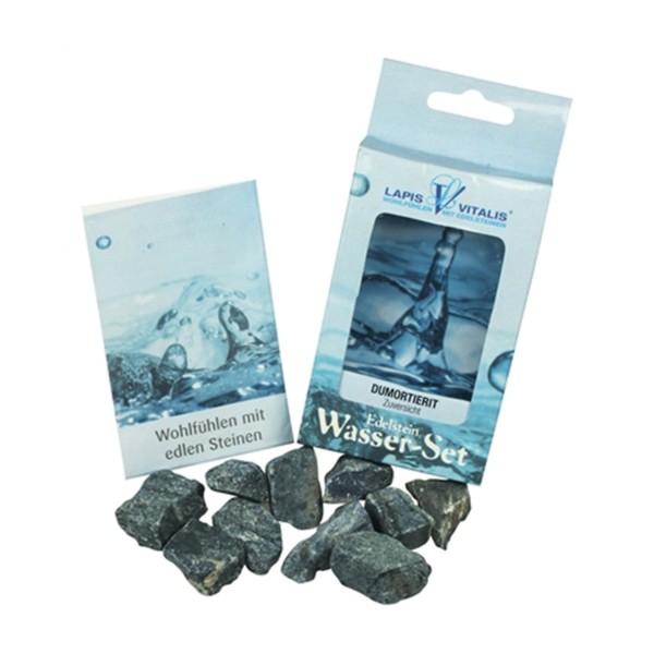 Wassersteine Dumortierit