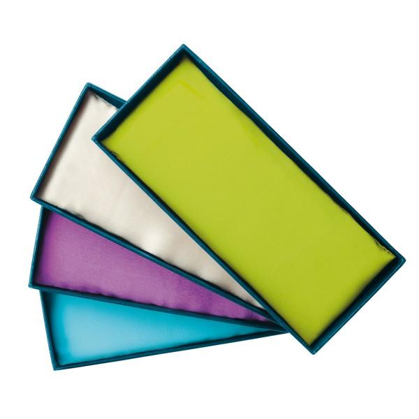Edelstein-Augenkissen Aquamarin