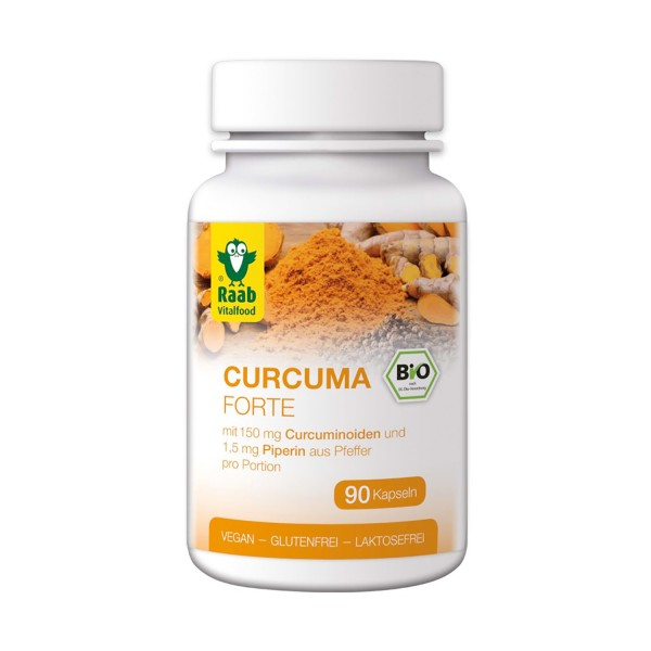 Curcuma FORTE Kapseln BIO