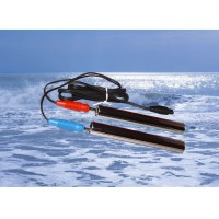 Handelektroden + Kabel für Zapper K100