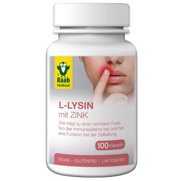 L-Lysin mit Zink Kapseln