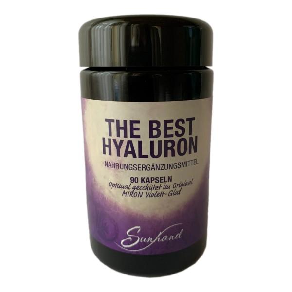 The Best Hyaluron – Hyaluronsäure Kapseln, 90 Kapseln