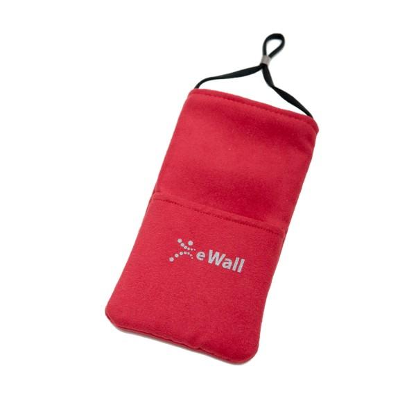 eWall Classic Rot Strahlenschutz Handytasche