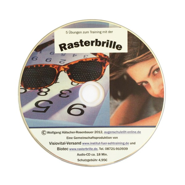 Rasterbrille Übungs-CD