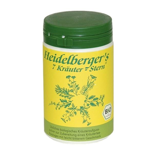 Heidelbergers 7 Kräuter Stern Pulver BIO