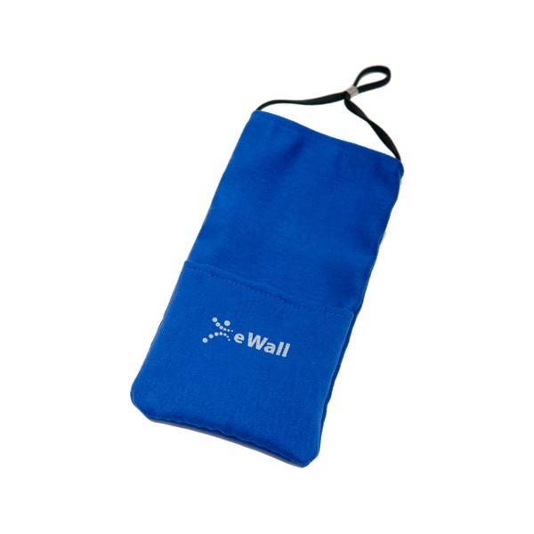 eWall Classic Königsblau Strahlenschutz Handytasche
