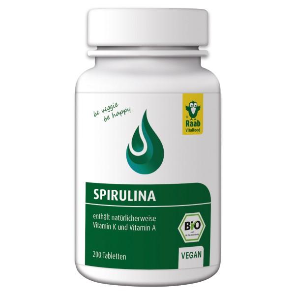 Spirulina Tabletten BIO