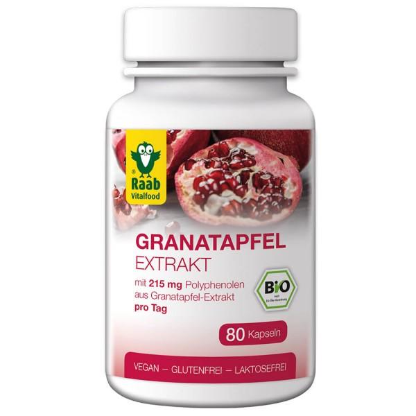 Bio Granatapfel Extrakt Kapseln