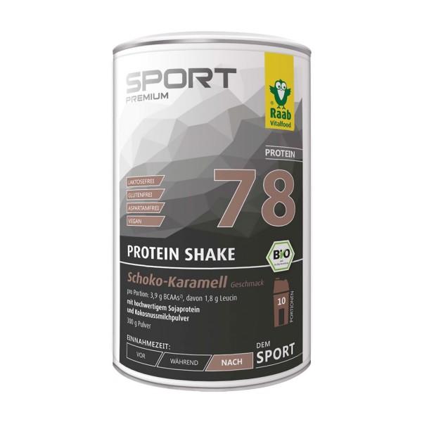 Protein Shake Schoko-Karamell Bio