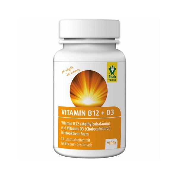 Vitamin B12 + D3 Tabletten