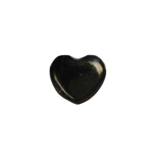 Schungit Herz, klein (2,8 cm)