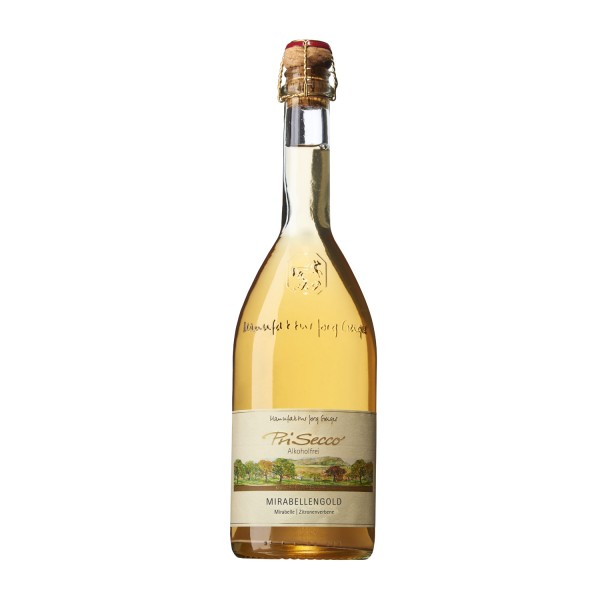 PriSecco Mirabellengold, alkoholfreier Cocktail von Geiger