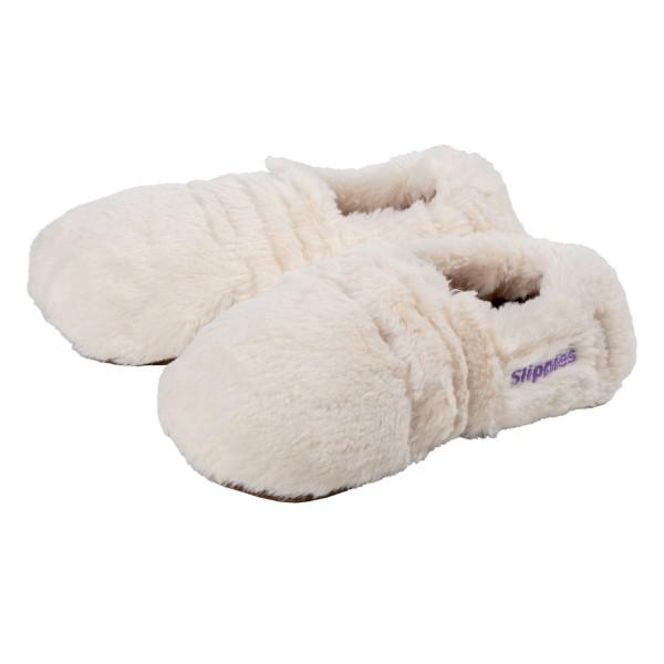 Slippies® Wärmepantoffeln Deluxe Creme (36-40)