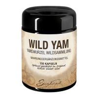 Sunhand Wild Yam Wurzel, 150 Kapseln