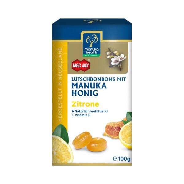 Manuka-Honig MGO Zitronenbonbons