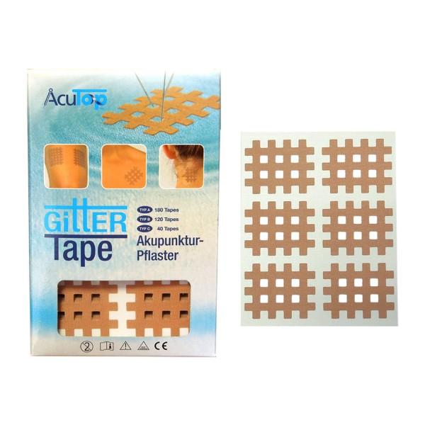 AcuTop Gitter Tapes - Gitterpflaster Größe B