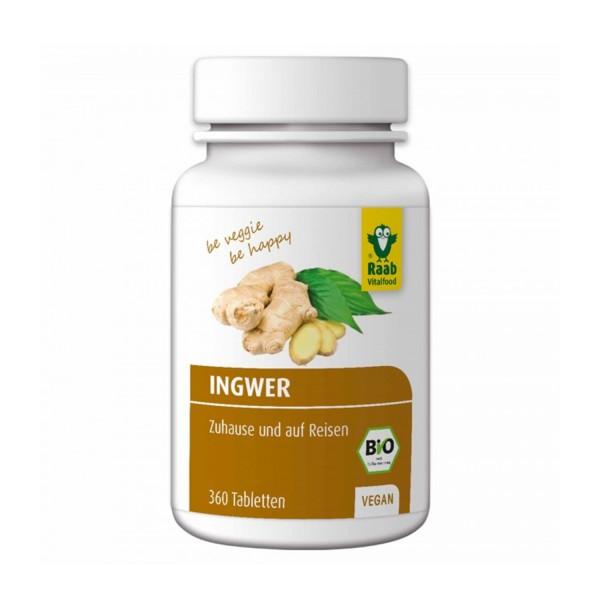 Ingwer Tabletten BIO