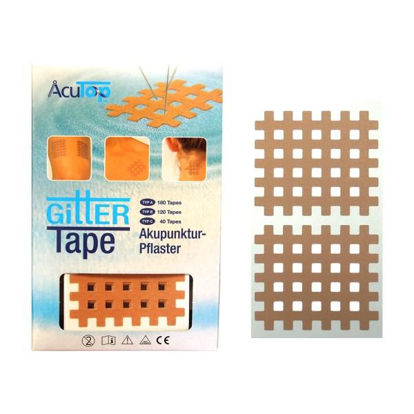 AcuTop Gitter Tapes - Gitterpflaster Größe C