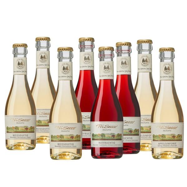 PriSecco PICCOLO Probierset 8 Flaschen je 0,2l