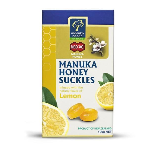 Manuka-Honig Zitronenbonbons