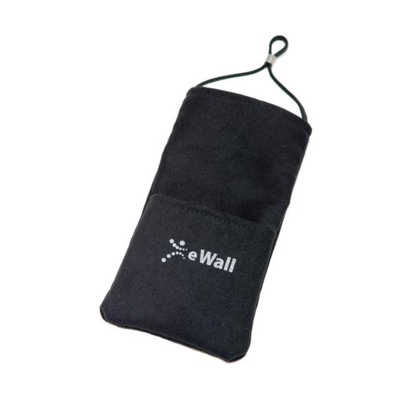 eWall Classic Schwarz Strahlenschutz Handytasche