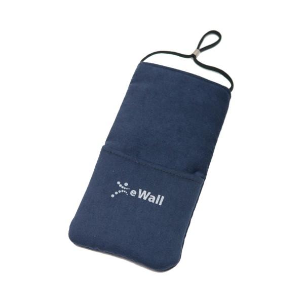 eWall Classic Dunkelblau Strahlenschutz Handytasche