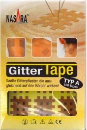 Nasara Gitter Tapes - Gitterpflaster Größe A