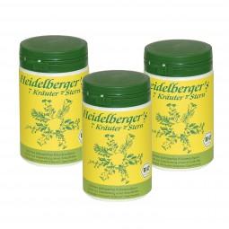 3er Pack Heidelbergers 7 Kräuter Stern BIO